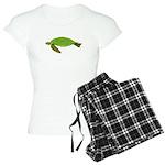 Green Sea Turtle Women's Light Pajamas