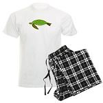 Green Sea Turtle Men's Light Pajamas