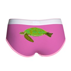 Green Sea Turtle Women's Boy Brief