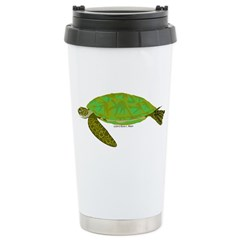 Green Sea Turtle Stainless Steel Travel Mug