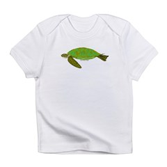 Green Sea Turtle Infant T-Shirt