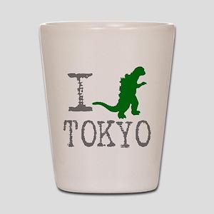 I Godzilla TOKYO (original) Shot Glass