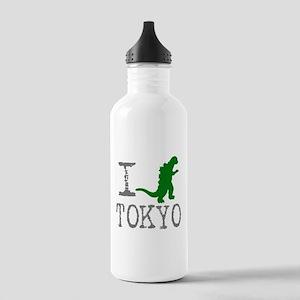 I Godzilla TOKYO (original) Stainless Water Bottle