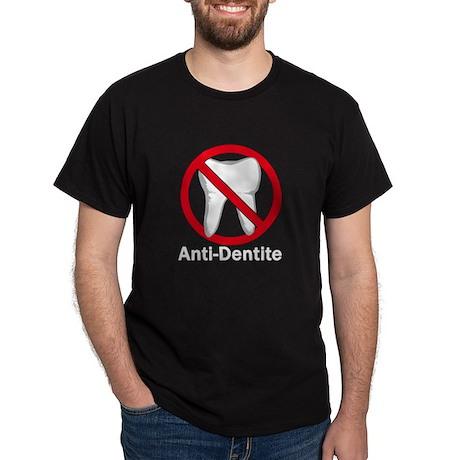 Anti-Dentite Black T-Shirt