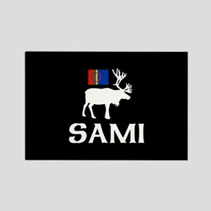 Sami, the People of Eight Seasons Rectangle Magnet