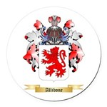 Allibone Round Car Magnet