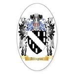 Allington Sticker (Oval 50 pk)