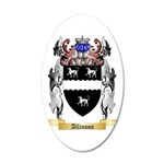 Allinson 35x21 Oval Wall Decal