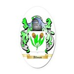 Allman Oval Car Magnet
