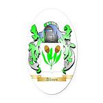 Allmen Oval Car Magnet
