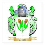 Allmen Square Car Magnet 3
