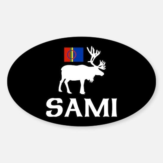 Sami, the People of Eight Seasons Sticker (Oval)