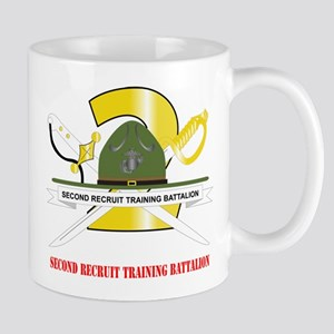 Second Recruit Training Battalion with Text Mug