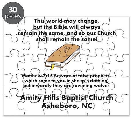 Amity HIlls Baptist church Puzzle by danithornburg