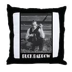 Buck Barrow Throw Pillow