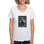 Buck Barrow Women's V-Neck T-Shirt