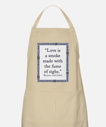 Love Is a Smoke Light Apron