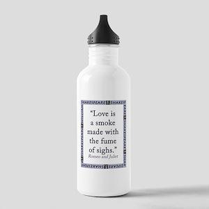 Love Is a Smoke Water Bottle