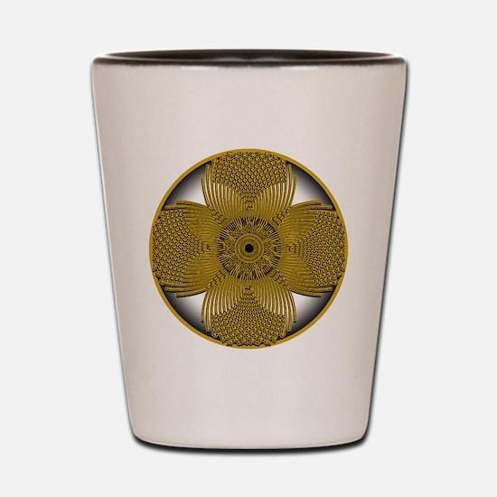 THE GOLDEN FLOWER Shot Glass