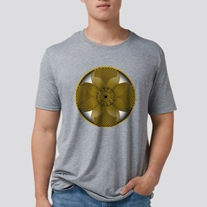 THE GOLDEN FLOWER Mens Tri-blend T-Shirt