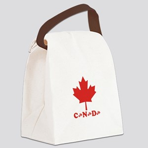 Canada Canvas Lunch Bag