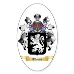 Alloisio Sticker (Oval 50 pk)