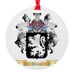 Alloiso Round Ornament