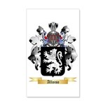 Alloiso 35x21 Wall Decal