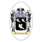 Allsop Sticker (Oval)