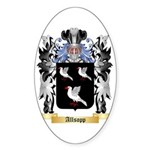 Allsopp Sticker (Oval 50 pk)