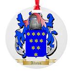 Allston Round Ornament