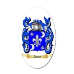 Allvey 20x12 Oval Wall Decal