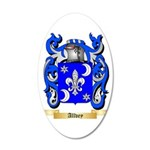Allvey 35x21 Oval Wall Decal
