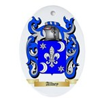 Allvey Ornament (Oval)