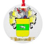 Allwright Round Ornament