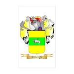 Allwright Sticker (Rectangle 50 pk)