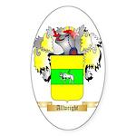 Allwright Sticker (Oval 10 pk)