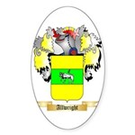 Allwright Sticker (Oval 50 pk)