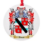 Alman Round Ornament