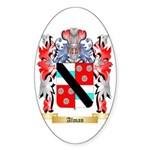 Alman Sticker (Oval 10 pk)