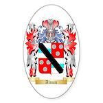 Alman Sticker (Oval 50 pk)