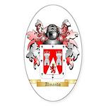 Almanda Sticker (Oval 50 pk)