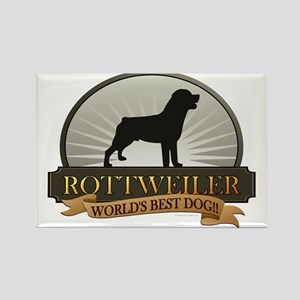 Rottweiler Rectangle Magnet