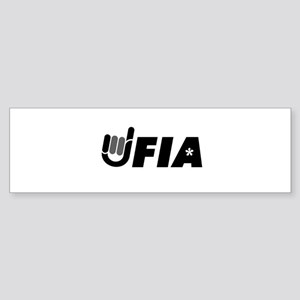 UFIA Bumper Sticker