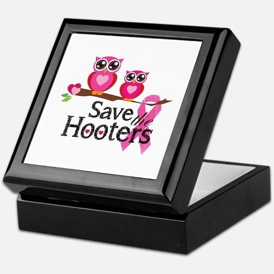 Save the hooters Keepsake Box