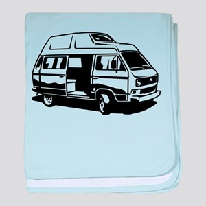 Camper Van 3.1 baby blanket