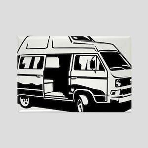 Camper Van 3.1 Rectangle Magnet
