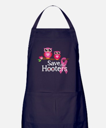 Save the hooters Apron (dark)