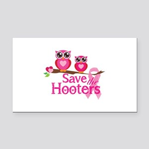 Save the hooters Rectangle Car Magnet