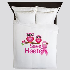 Save the hooters Queen Duvet